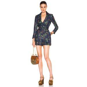 Marissa Webb Edison Jacquard Floral Suit Jumper